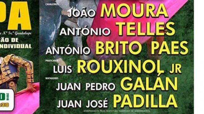 Festival Taurino de Serpa com cartel de primeiras figuras.