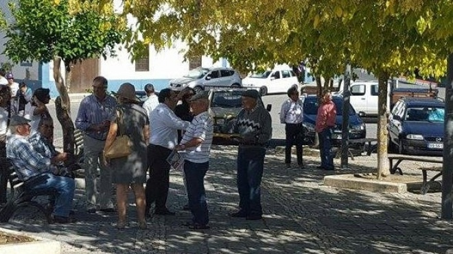 PS com ações em Castro Verde
