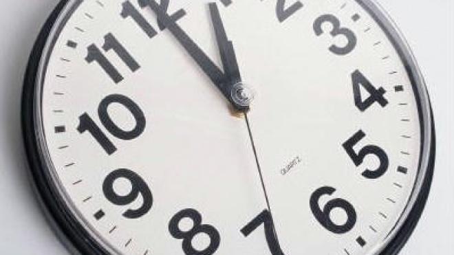 Os relógios atrasam uma hora na madrugada de domingo