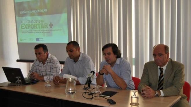 """Projecto """"Alentejo 2015 Exportar +"""" já foi apresentado"""