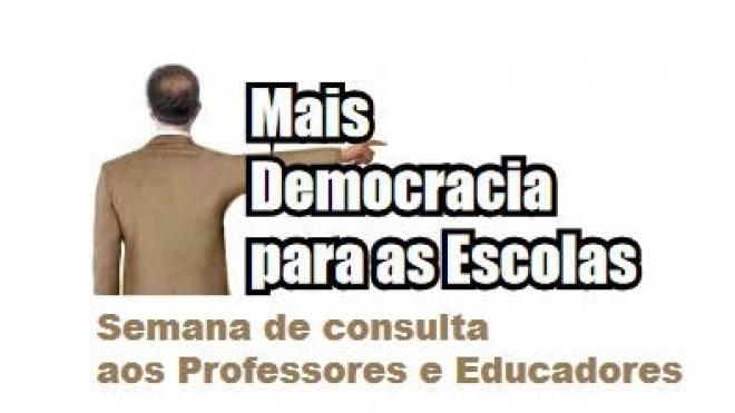 FENPROF com campanha nacional em defesa da gestão democrática das escolas
