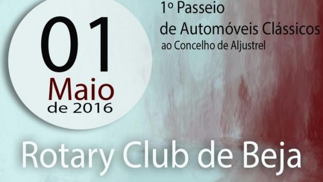 1º Passeio de Automóveis Clássicos do Rotary Club de Beja