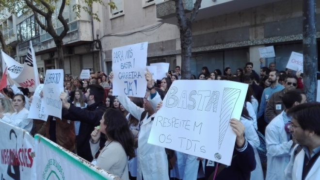 STSS em greve por tempo indeterminado