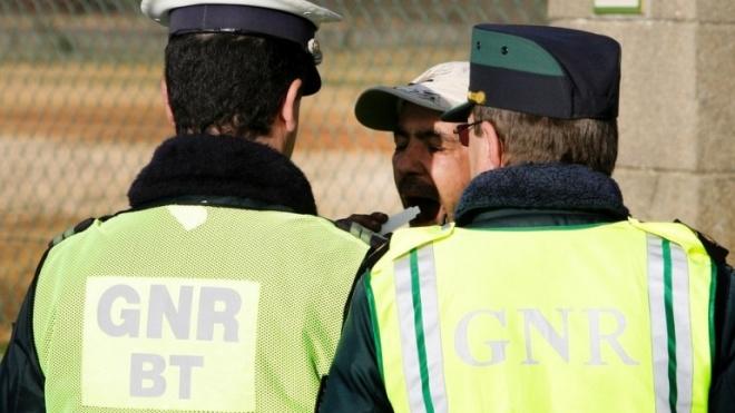 GNR registou 35 acidentes em Julho