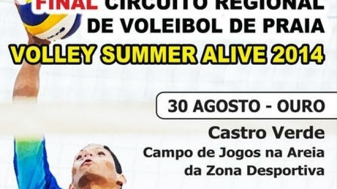"""""""Volley Summer Alive!"""" em Castro Verde"""