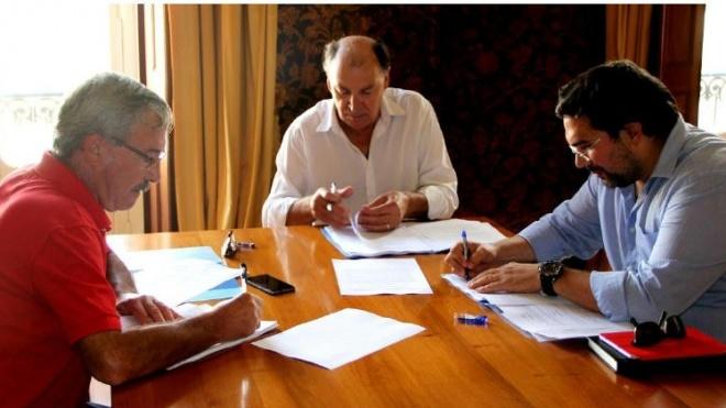 Assinatura acordo de Empresa EMAS