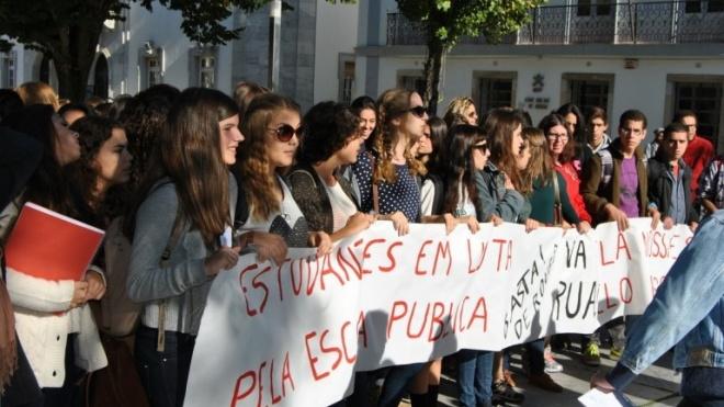Dia do Estudante assinalado com acções de luta