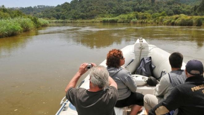 Passeios de barco entre Milfontes e Odemira