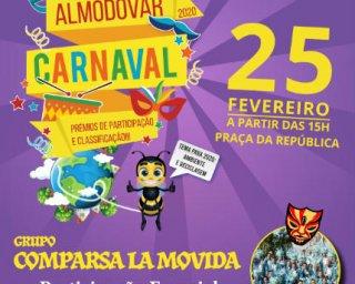 Animação carnavalesca começa hoje em Almodôvar